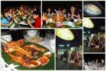 dinner in Jimbaran Bay