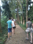 trekking at Bukit Jati Bangli
